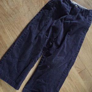 OSh kosh b'gosh boys 6 regular boot cut pants navy